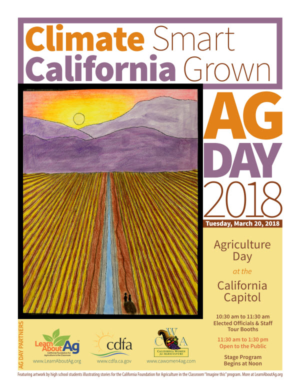 2018 Ag Day promotional Flyer