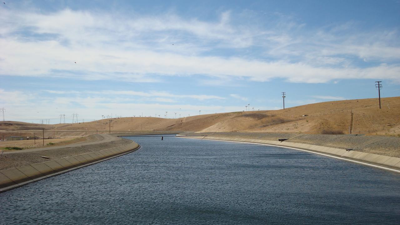 California Irrigation Canal