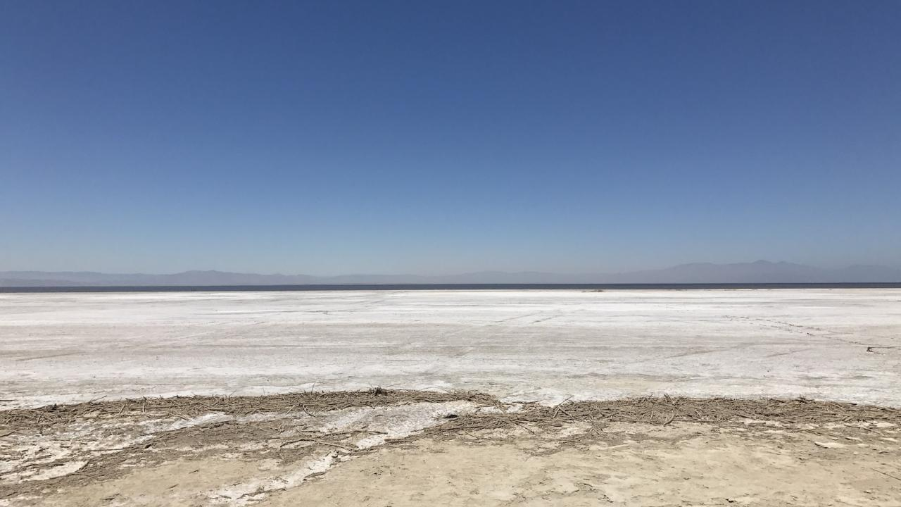 the disappearing salton sea and poor air quality in