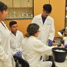 Imperial Valley student visitors perform research at CHE